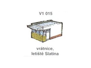 Vrátnice, letiště Slatina (3ks)