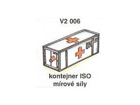 Kontejner ISO - mírové síly (4ks)