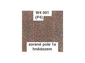 Zorané pole 1a - hnědozem