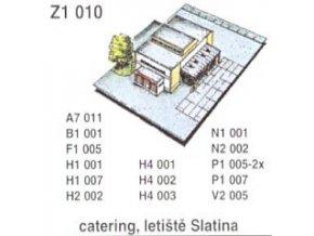 Catering, letiště Slatina
