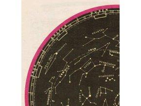 Mapa severní oblohy