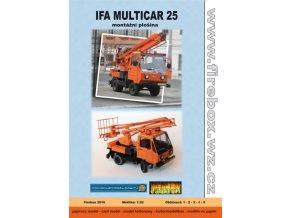 Ifa Multicar 25 - montážní plošina