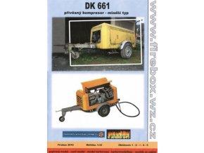 DK 661 - přívěsný kompresor