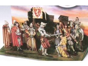 Pasování Karla na rytíře