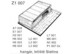 Hangár, letiště Slatina