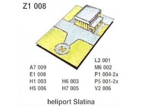 Heliport Slatina