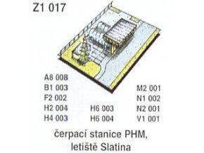 Čerpací stanice PHM, letiště Slatina