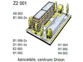 Kanceláře, centrum Union