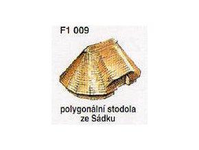 Polygonální stodola ze Sádku