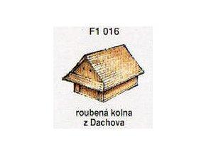 Roubená kolna z Dachova