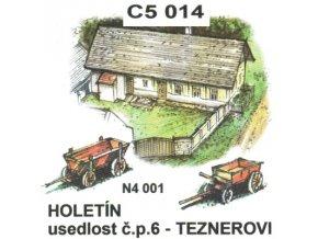 Holetín - usedlost čp. 6 Teznerovi
