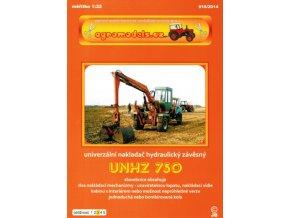 UNHZ 750 - zemědělský univerzální nakladač