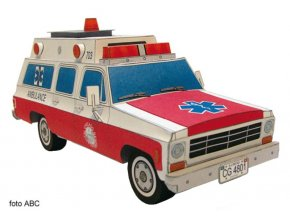 Ford F100 - ambulance Chicago