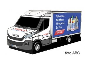 Iveco Daily - Tesco box