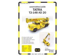 Tatra T2-148 AD 20 - autojeřáb