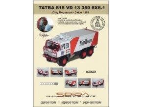 Tatra 815 VD 13 350 6x6.1 - Regazzoni - Dakar 1988 [620]