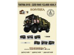 """Tatra 815 2ZO R45 12.400 4x4.1 D """"Bonverka"""" - Dakar 2012 [527]"""