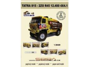 Tatra 815 2ZO R45 12.400 4x4.1 D - Loprais Team 2011 - Dakar 2011 [504]