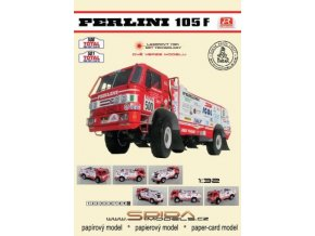 Perlini 105F - Rally Paris - Sirte - Le Cap 1992 [500] [501]