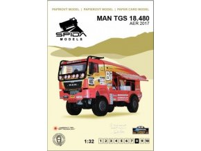 MAN TGS 18.480 - Africa Eco Race 2017 [402]