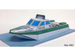 člun poříční policie MB 075