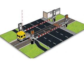 Bezpečně v silničním provozu 6 - železniční přejezd se světelnou signalizací