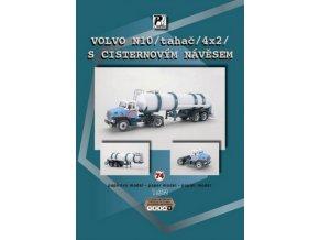 Volvo N10 + cisternový návěs