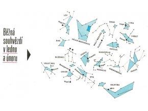 mapa hvězdné oblohy