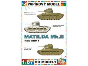 Matilda Mk.II (3x) - (Rudá armáda / Red Army)