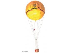 plynový balon - Dva fousáči v balonu