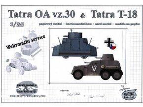 Tatra OA vz.30 a Tatra T-18
