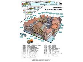 Náměstí v Kopečku 2017