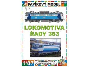 ř. 363 - dvousystémová elektrická lokomotiva