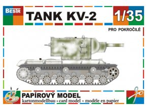 KV-2 - zimní verze