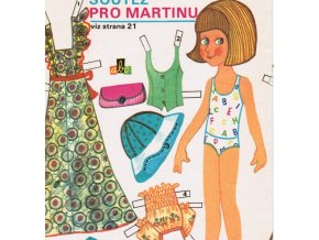 Martina - oblékací panenka