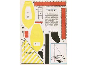 Kreola - letní plachetnička