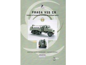 Praga V3S CR - cisterna ČSLA