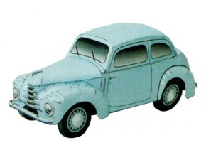 Škoda 1101 - Tudor + pexeso