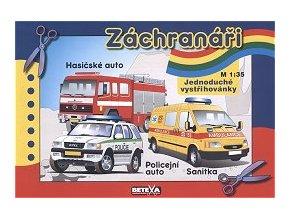 Ford Transit + Opel Frontera Van + CAS 25-LIAZ 101.860 (Záchranáři)