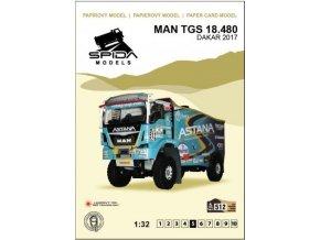 MAN TGS 18.480 Dakar 2017 [512]