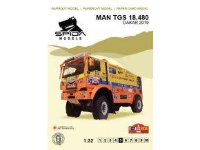 MAN TGS 18.480 - Rallye Dakar 2019 [522]