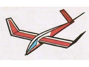 Házecí model větroně
