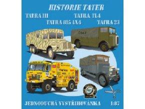 Tatra TL 4 + Tatra 23 + Tatra 111 + Tatra 815 4x4