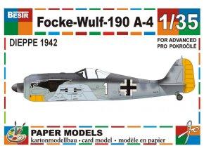 Focke-Wulf - 190 A-4 (Dieppe 1942)