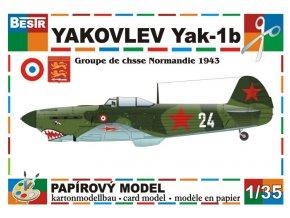 Yakovlev Yak-1b (Groupe de chasee Normandie 1943)