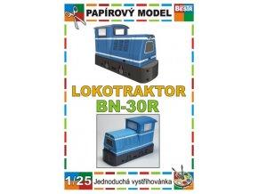 BN-30R - úzkorozchodná lokomotva
