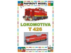 T 426 - Rakušanka - dieselová ozubnicová lokomotiva ř. 715