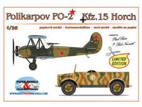 Polikarpov PO-2 + Kfz.15 Horch