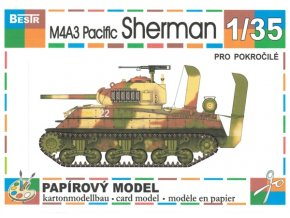 M4A3 Pacific Sherman - Deep wading