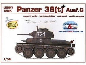 Jagdpanther 38(t) Ausf.G (Lt-38)